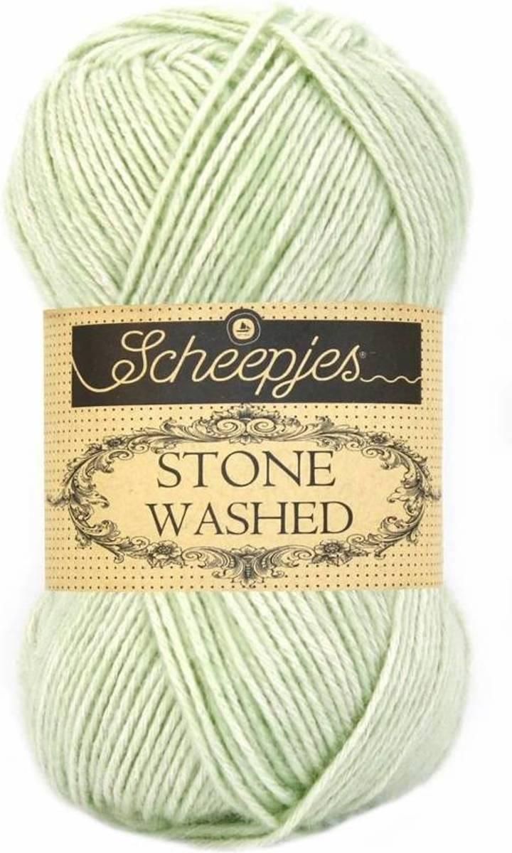 Bolcom Scheepjes Stone Washed 819 New Jade Scheepjes Speelgoed