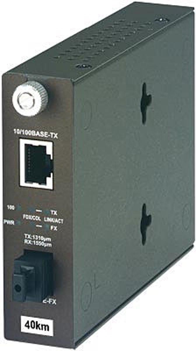 Trendnet TFC-110S40D3 netwerk media converter 100 Mbit/s 1310 nm kopen
