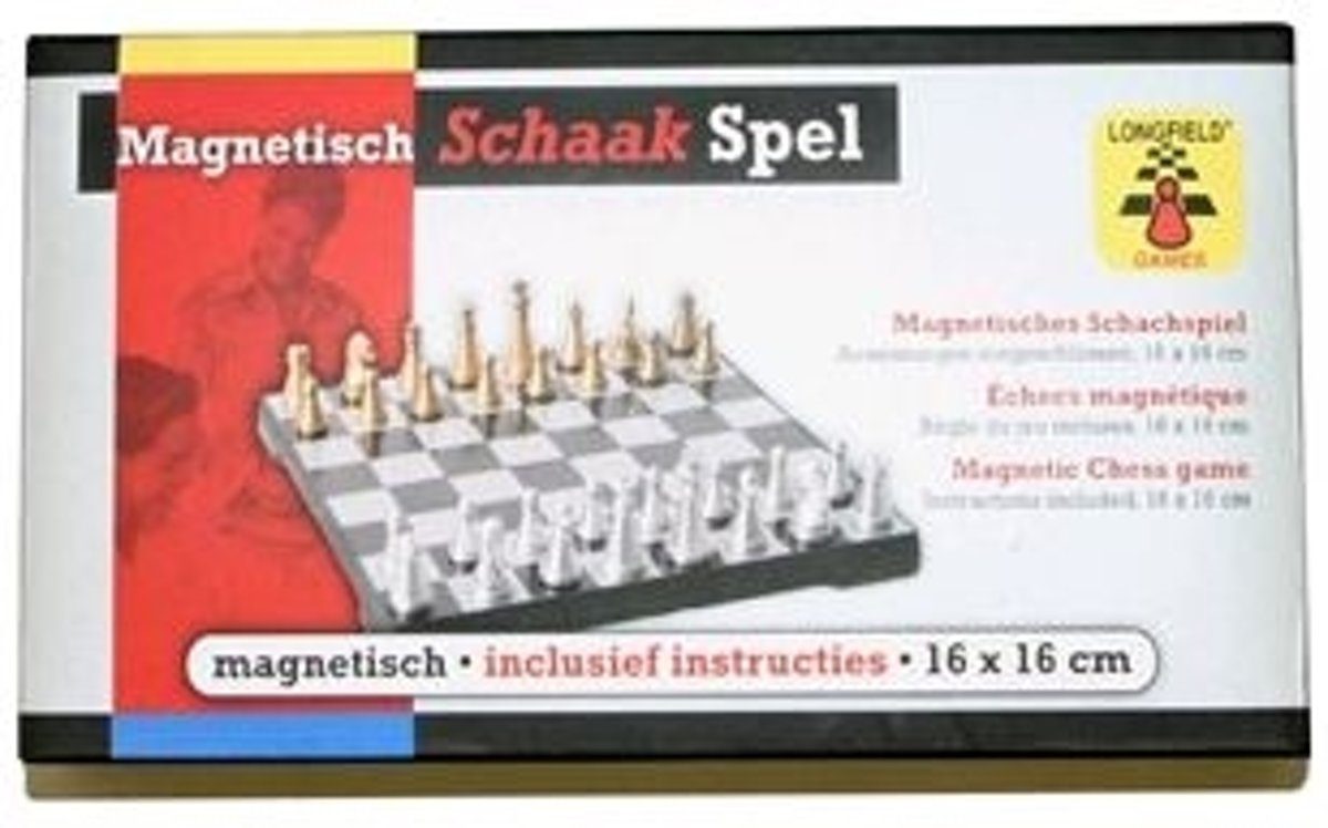Longfield Games Schaakspel Doos - Magnetisch