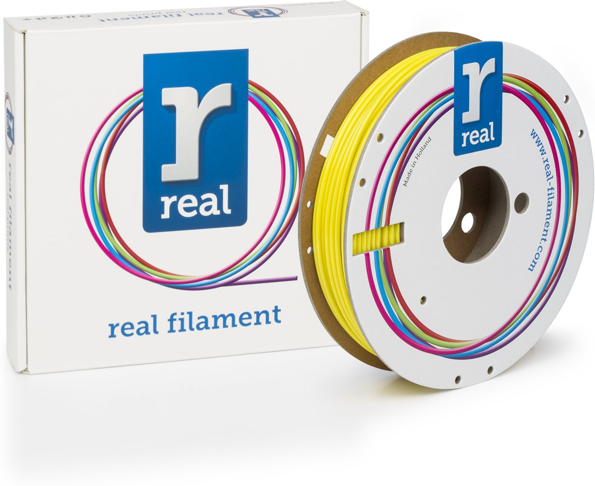 REAL Filament PETG geel 2.85mm (500g)