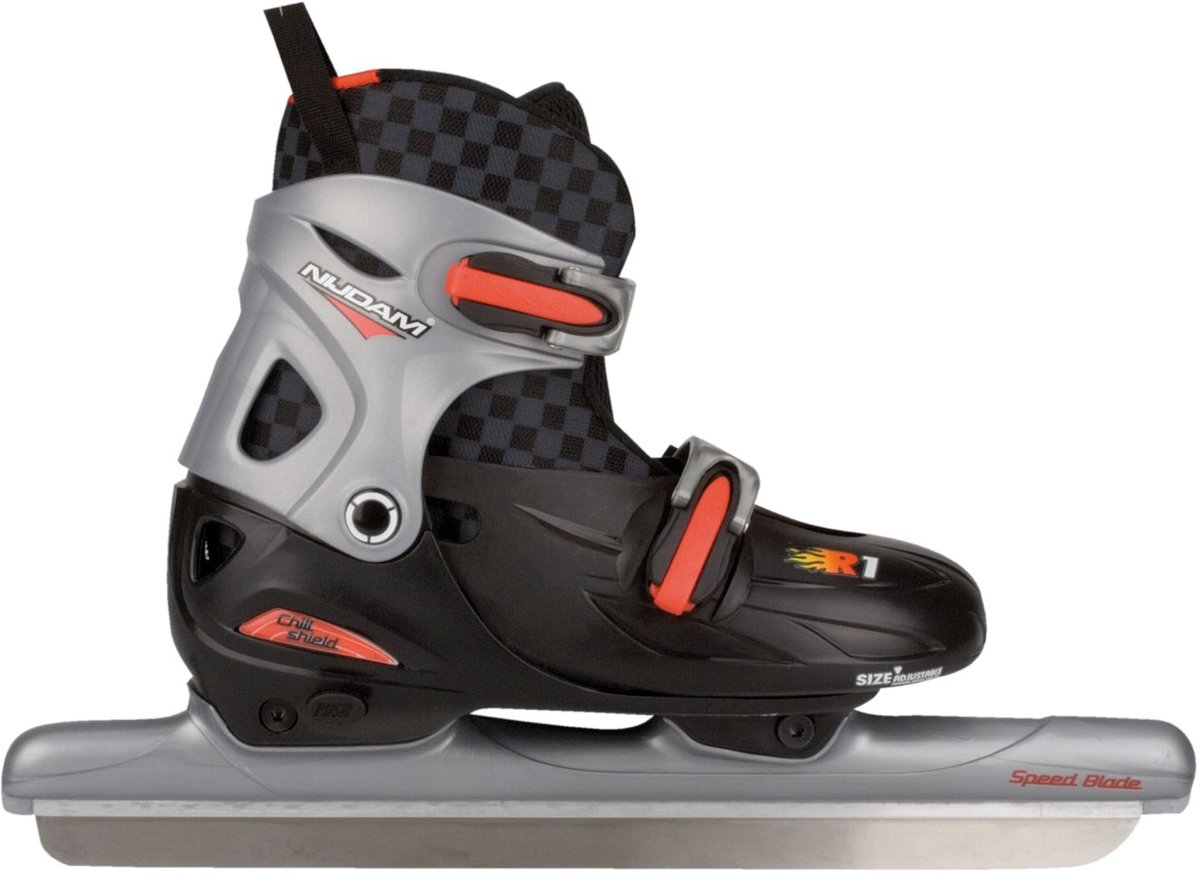 Nijdam 3100 Junior Norenschaats - Verstelbaar - Hardboot - Maat 30-33