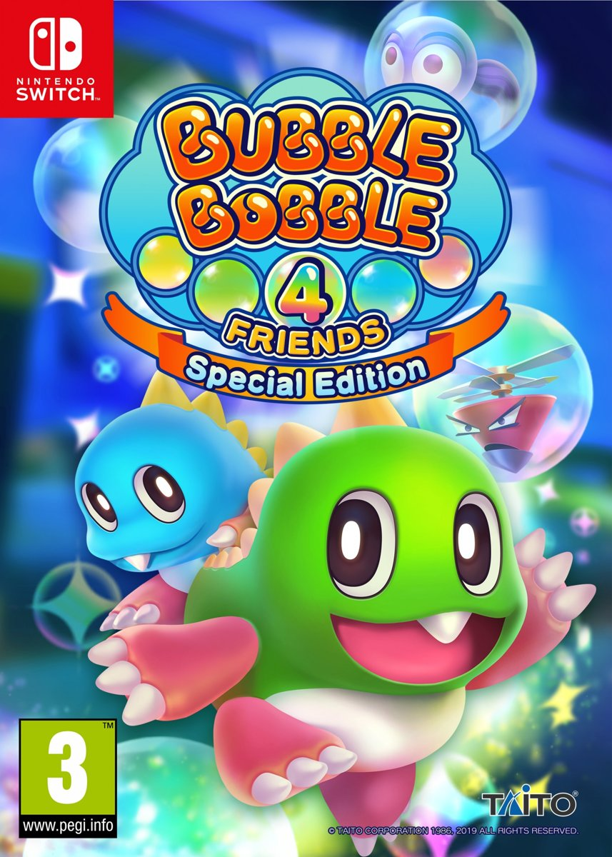 Bubble Bobble: 4 Friends - Special Edition /Switch kopen