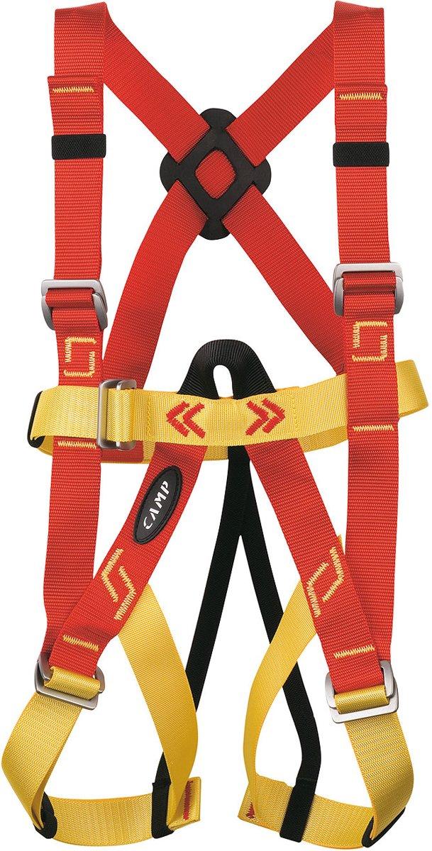 Camp Bambino klimgordel Kinderen geel/rood