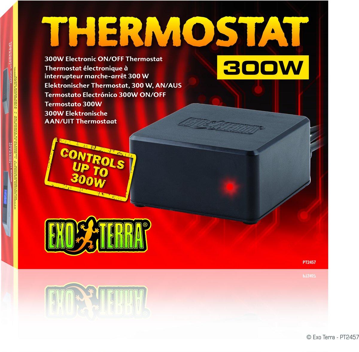 Exo Terra ELECTRONISCHE AAN/UIT THERMOSTAAT 300W