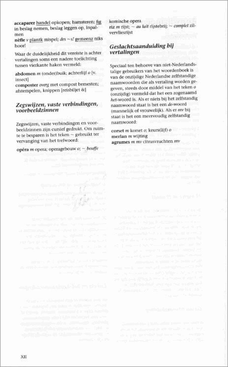 Bolcom Frans Nederlands Kramers Woordenboek Onbekend