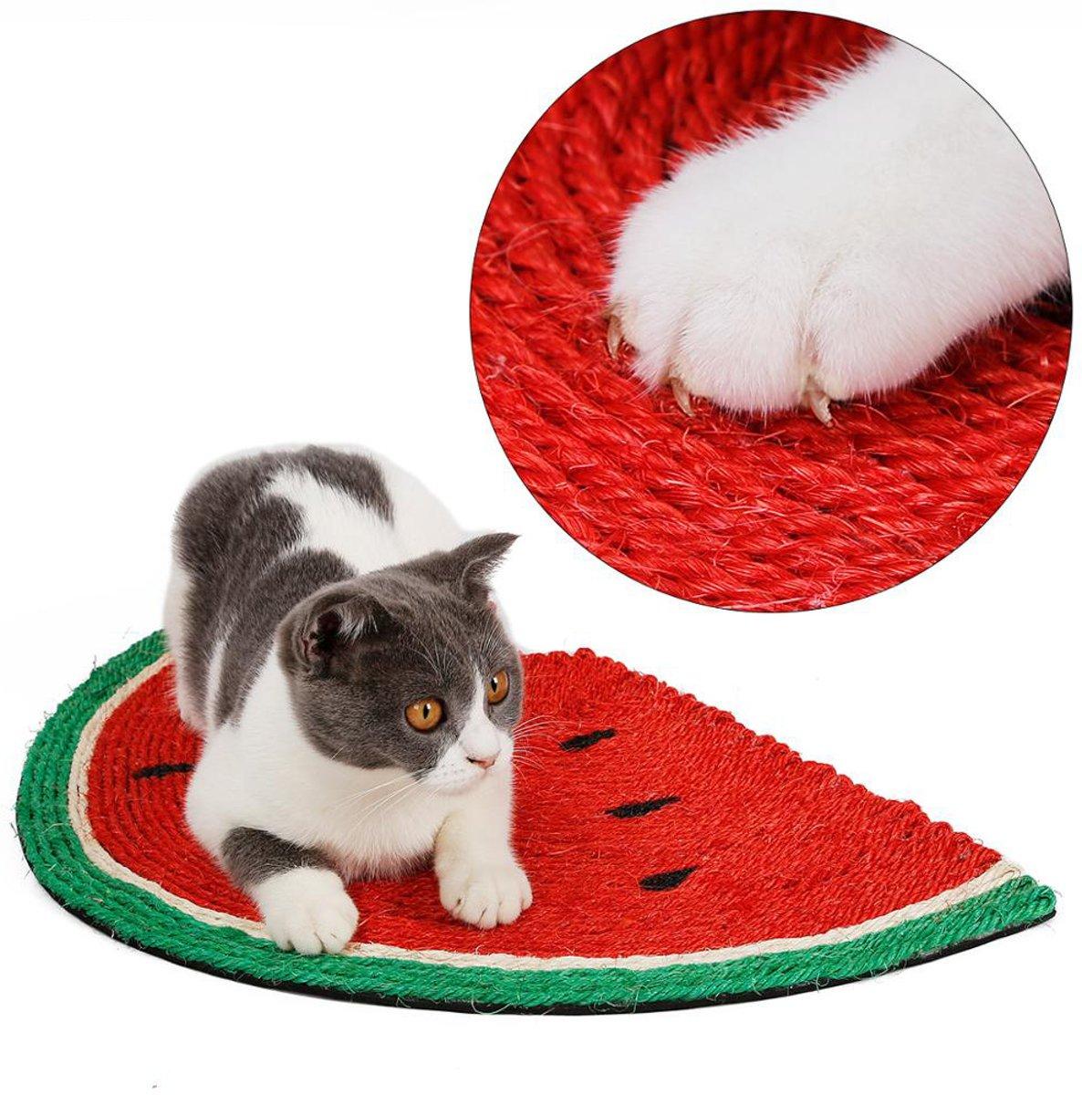 Katten Krabmat Watermeloen - Krabplank - Ligplaats - 30 x 50cm kopen