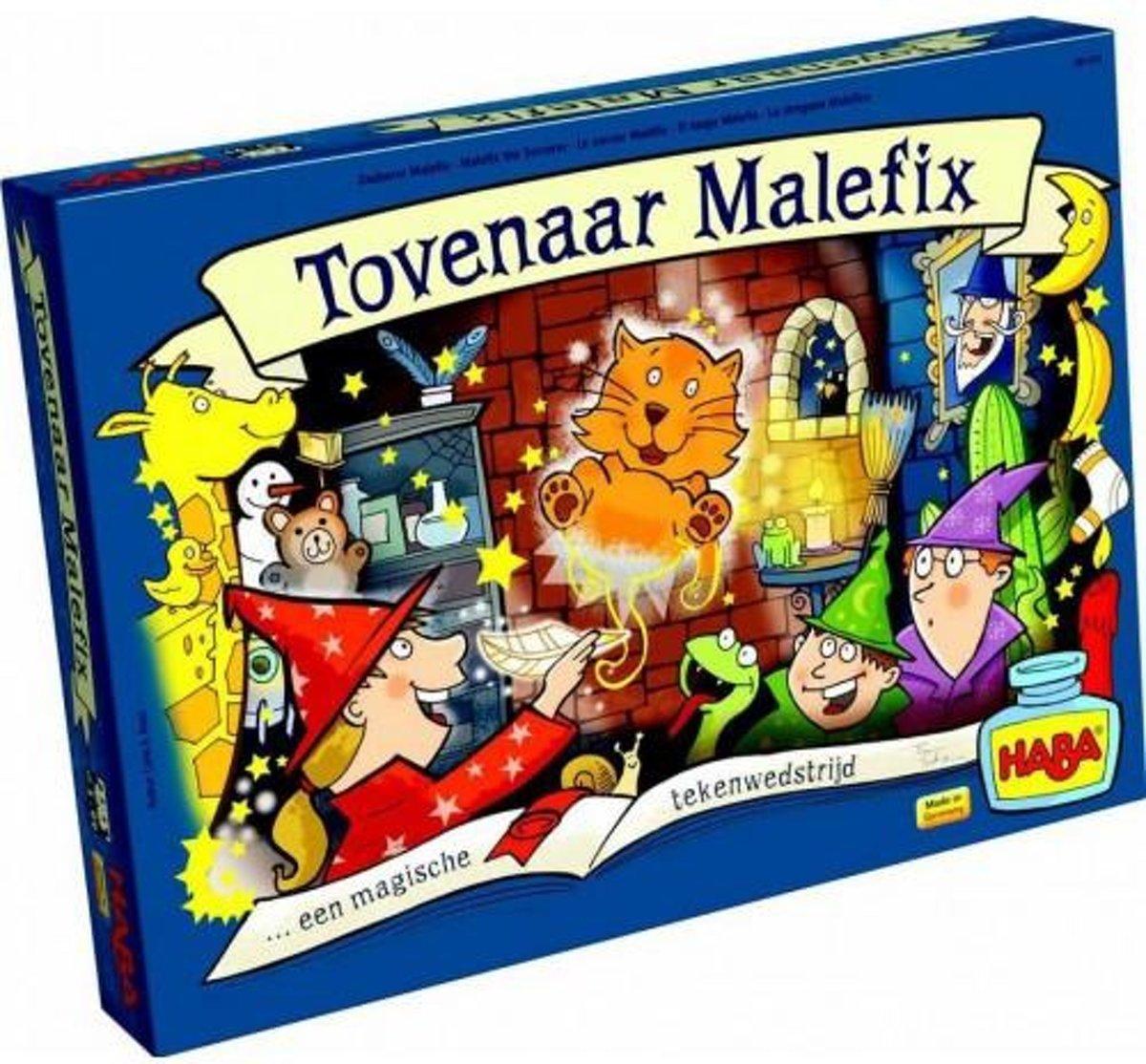 Haba Spel Spelletjes vanaf 4 jaar Tovenaar Malefix