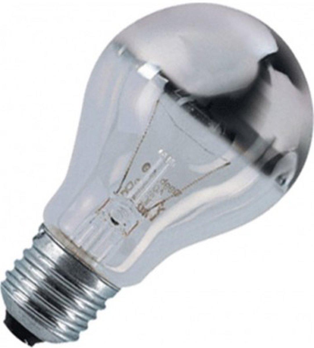 Osram kopspiegel gloeilamp helder 60 watt zilver kopen