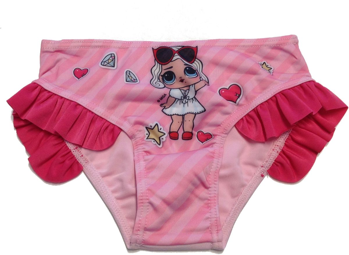 LOL Surprise! Zwembroek kl roze-fuchsia mt 104 kopen