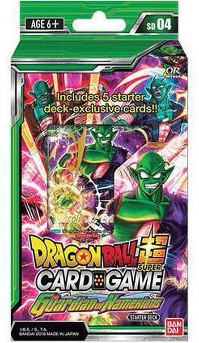 Dragon Ball Super Card Game Start Deck 4 The guardian of Namekians
