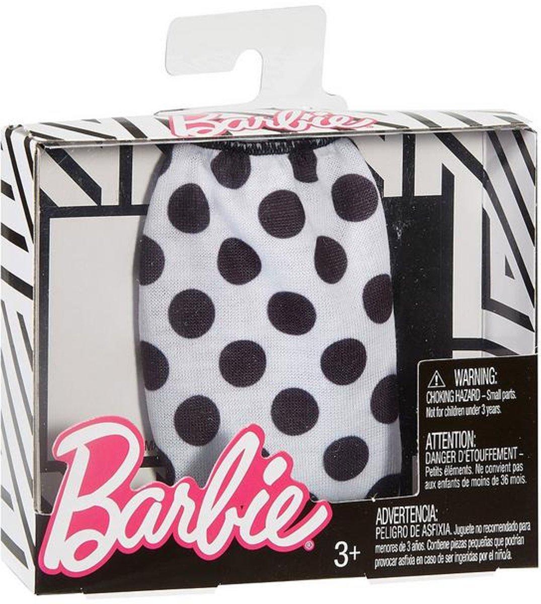 Barbie Kleding - Outfit - Zwart-Wit Rok