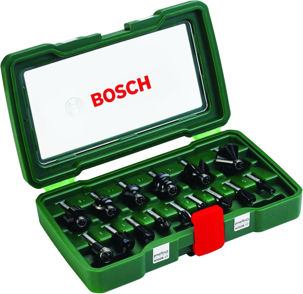 Bosch Houtfrezen - ? 8 mm schacht - 15-delig - geschikt voor alle merken kopen