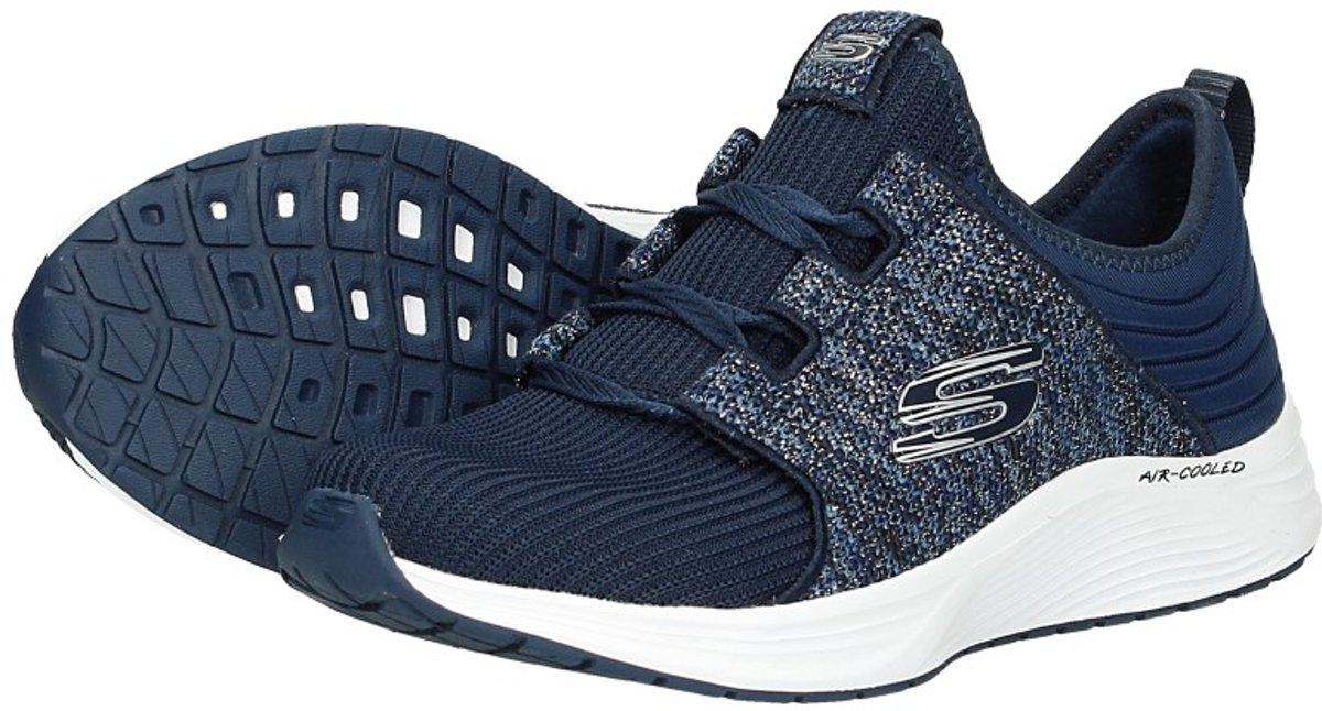 cc5aa6d84bb bol.com | Skechers Skyline - Fun Spark Sneakers Dames - Navy - Maat 36
