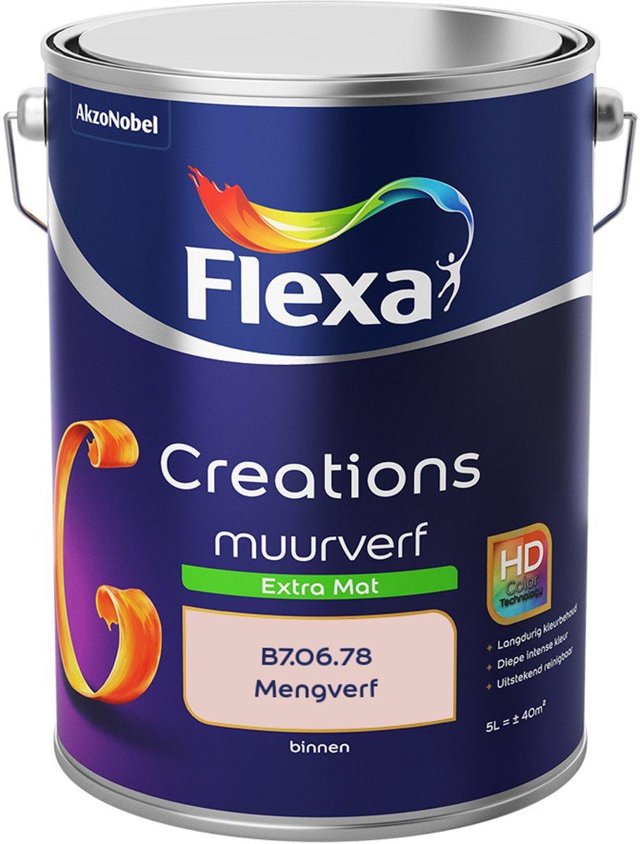 Flexa Creations Muurverf - Extra Mat - Mengkleuren Collectie - B7.06.78 - 5 Liter