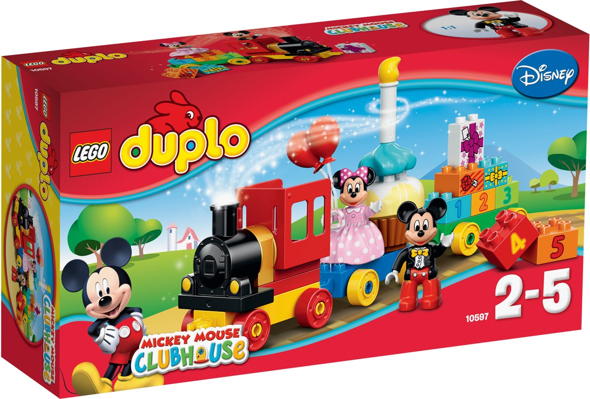 DUPLO - Mickey & Minnie Verjaardagsoptocht