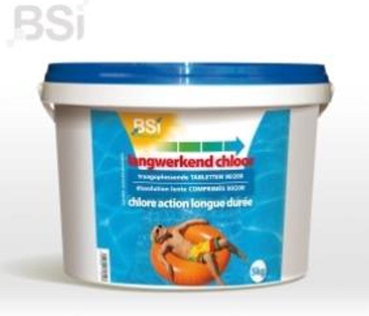 Langwerkende chloortabletten 5 kg - chloreren het water gedurende 2 weken