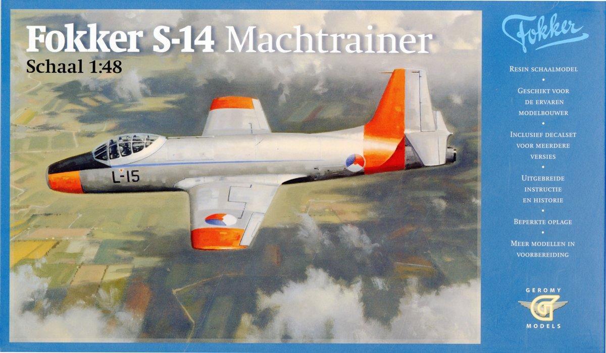 Fokker S-14 Machtrainer schaal 1:48