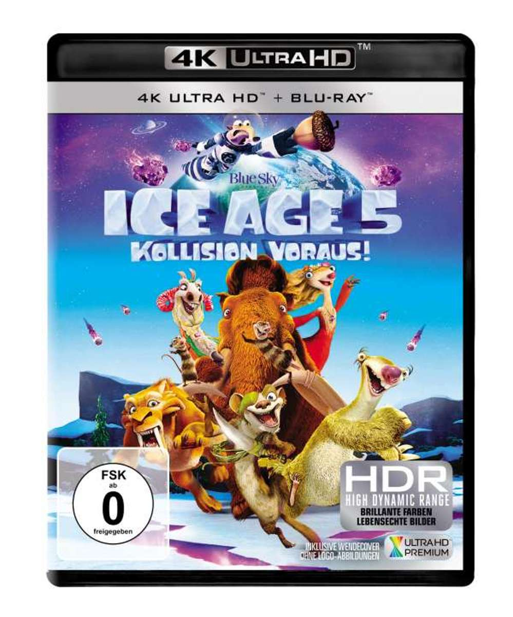 Ice Age: Collision Course (2016) (Ultra HD Blu-ray & Blu-ray)-