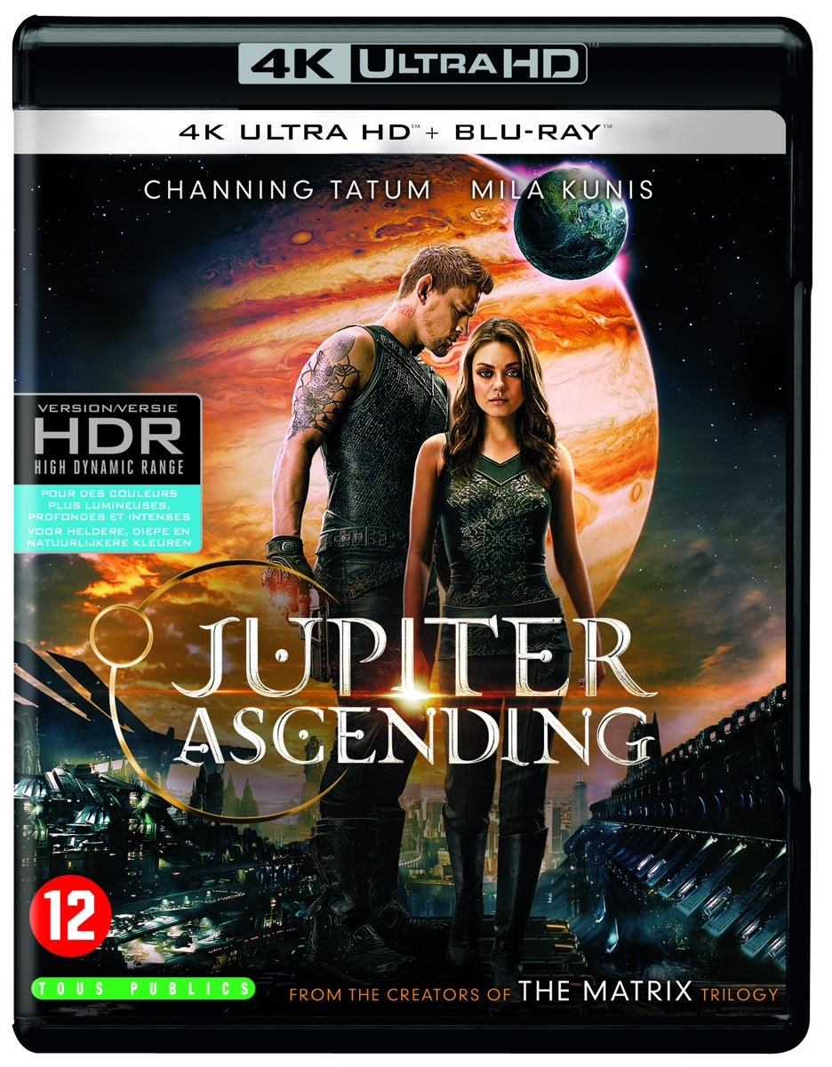 Jupiter Ascending (4K Ultra HD Blu-ray)-