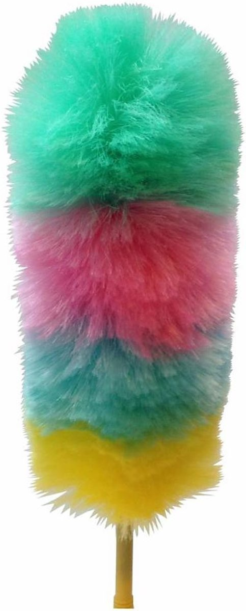 Luxe plumeaux met schroefsteel - Uitschuifbaar kopen