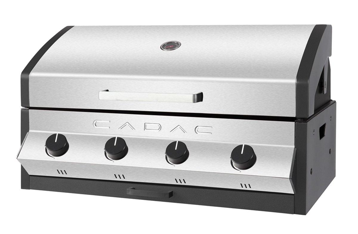 CADAC Meridian Inbouw Gasbarbecue - 4 Branders - RVS kopen
