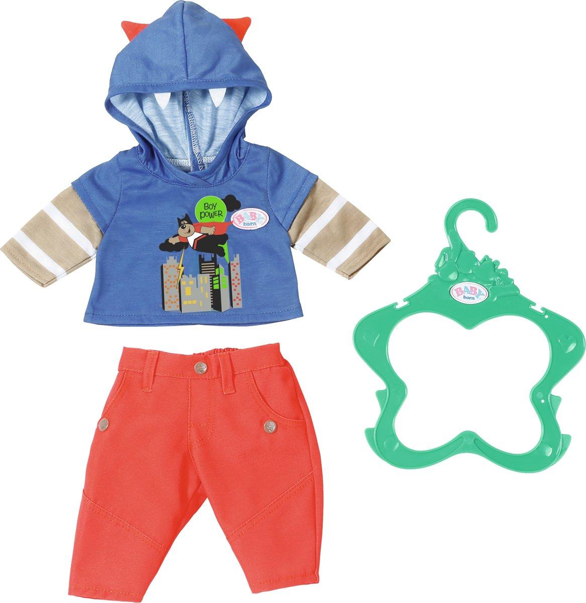 BABY born® Kledingsetje voor jongen - poppenkleding