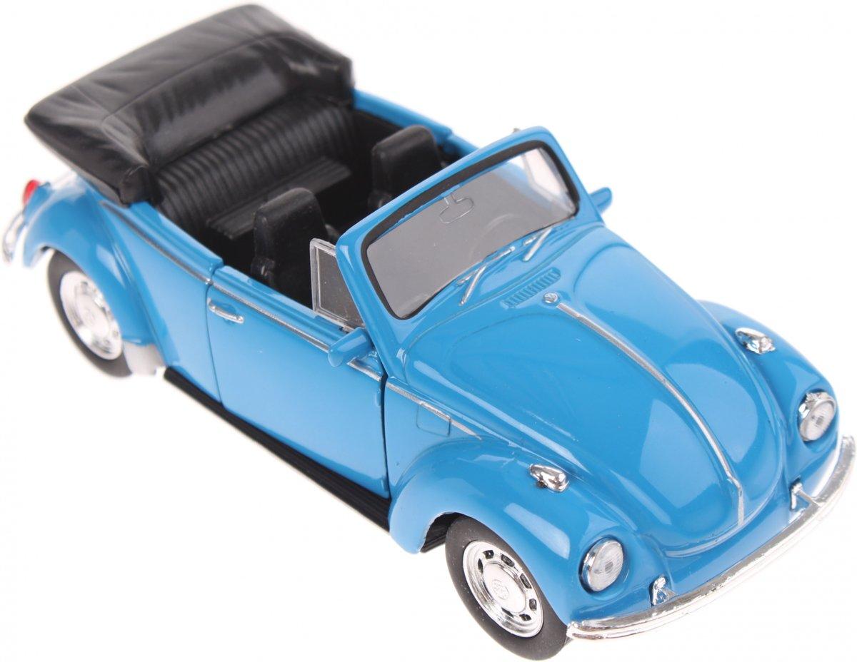 Welly Schaalmodel Volkswagen Kever Cabrio Blauw