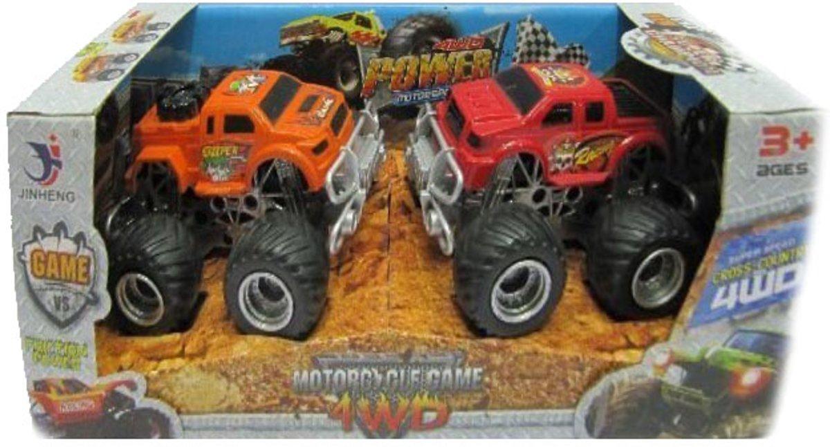 Kids N Fun 8 Kleurplaten Van Monster Trucks
