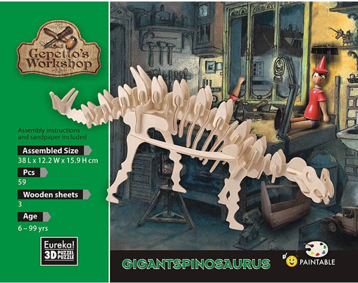 Gepetto's Workshop Gigantspinosaurus