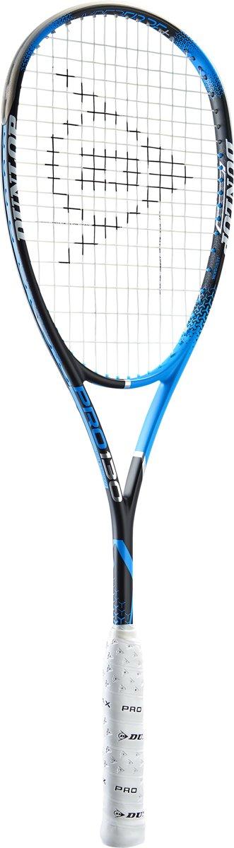 Dunlop PRECISION PRO 130 - Blauw/zwart - Squashracket