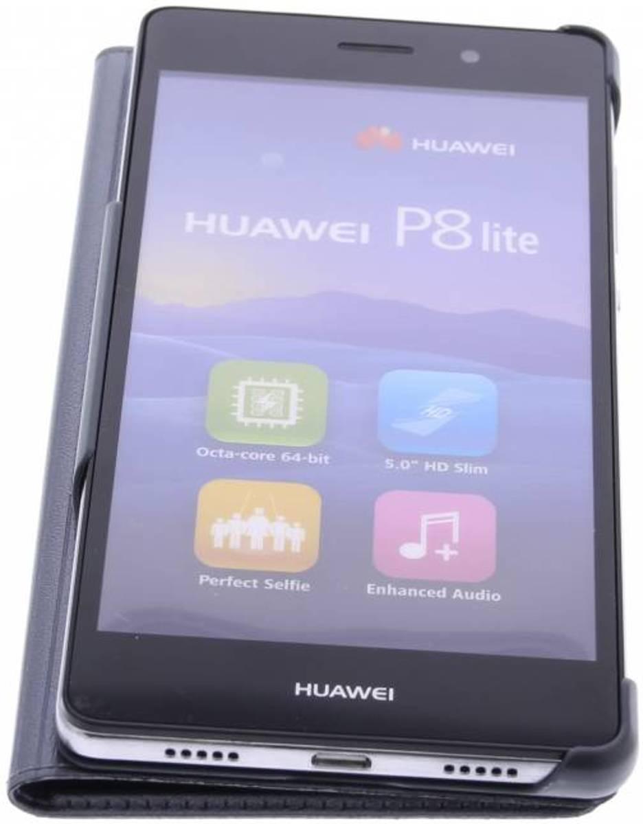 Fenêtre De Type Livre Intelligent Rose Pour Huawei P8 qhIOuoXu