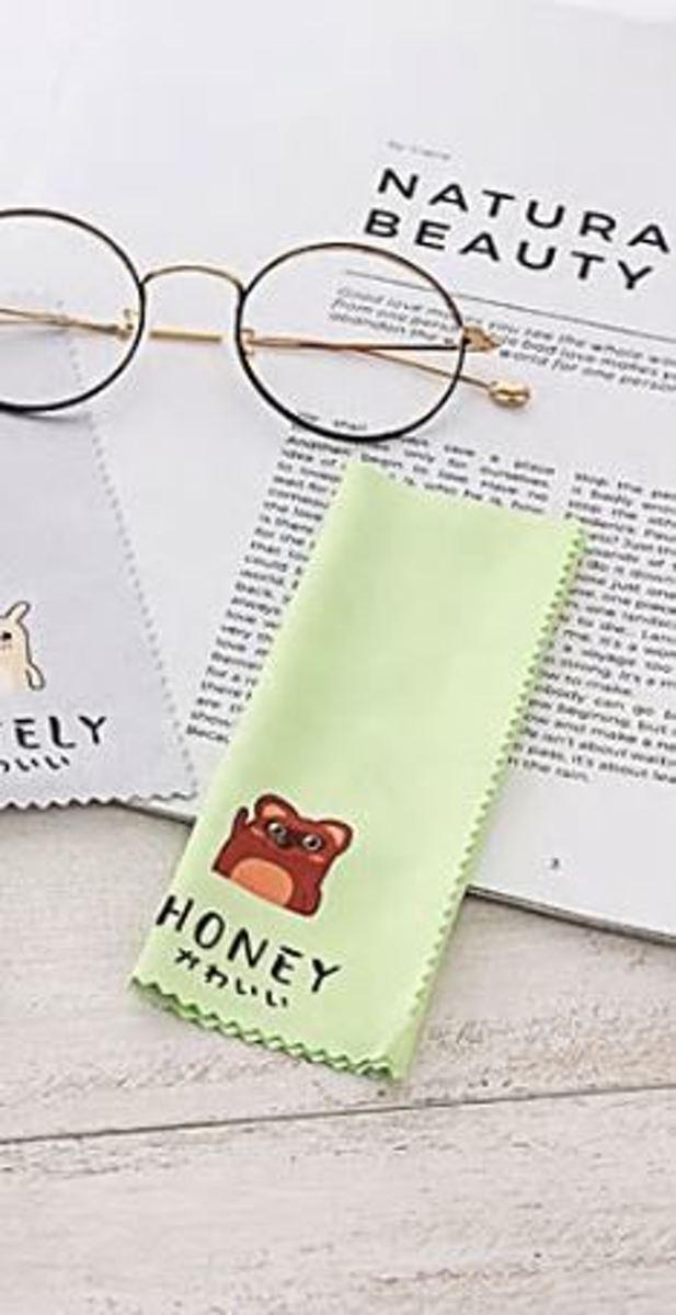 brillenpoetsdoekje Honey - microvezel brillendoekje poetsdoekje kopen