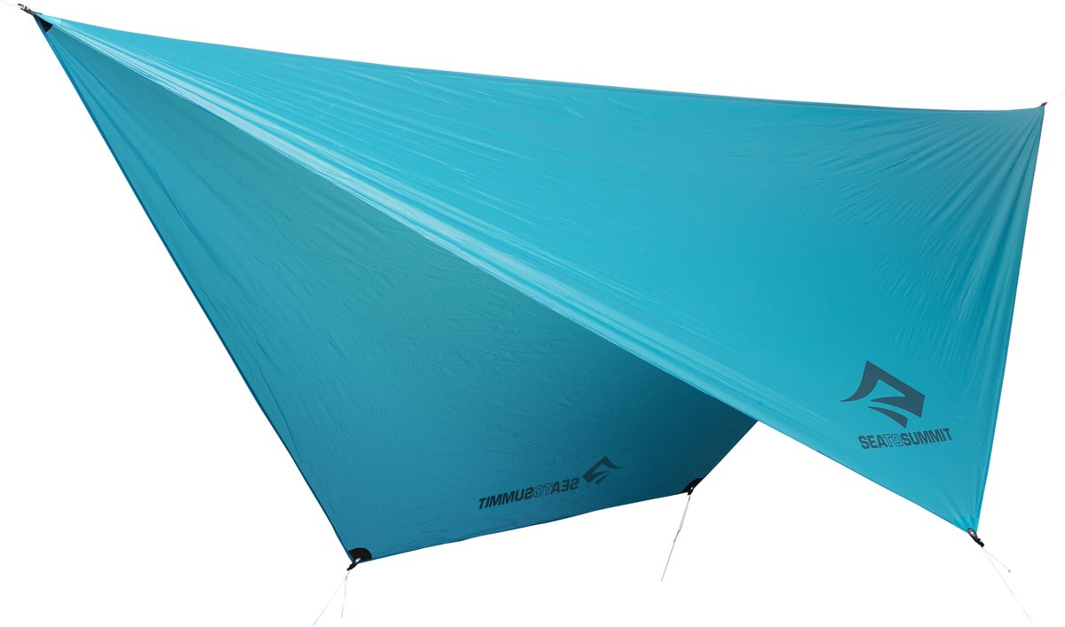 Sea to Summit Hammock UltraLight Tarp 15D Hangmat - Hangmat & Schaduwdoek - Blauw - 350g