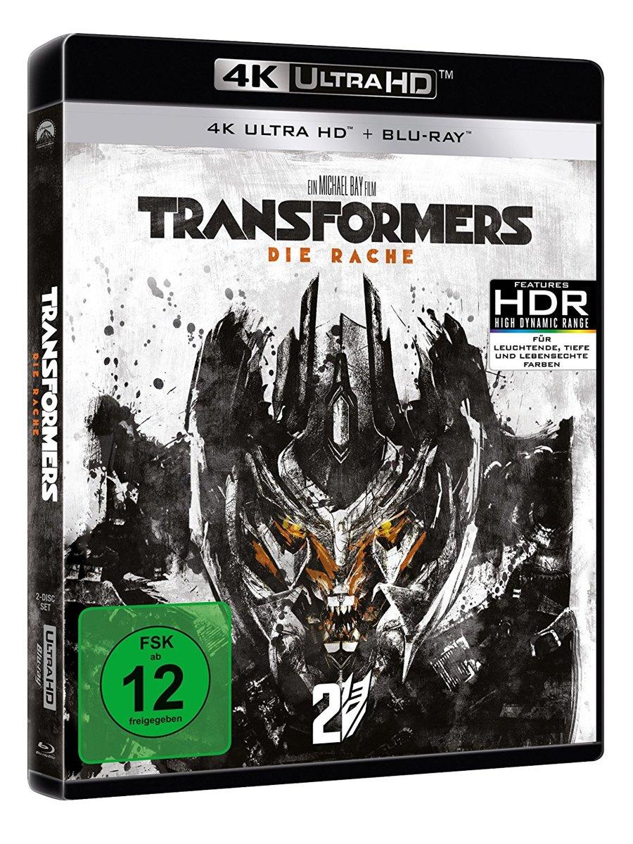 Transformers - Revenge Of The Fallen (2009) (Ultra HD Blu-Ray & Blu-Ray)-