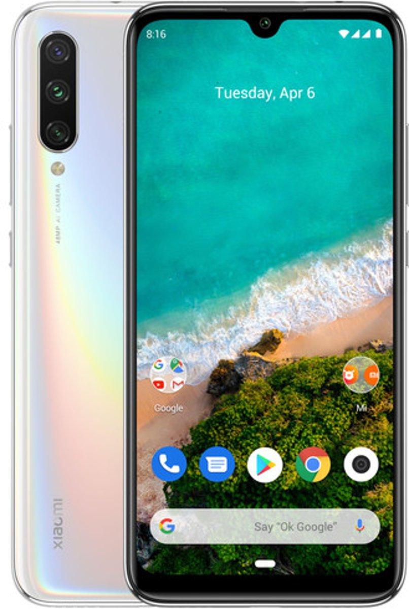 Xiaomi Mi A3 15,5 cm (6.09'') 4 GB 64 GB Dual SIM 4G Wit 4030 mAh kopen