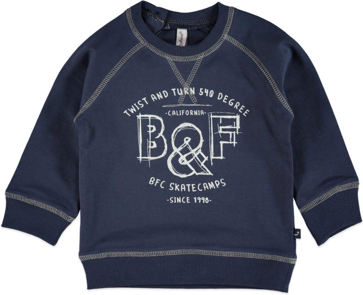 Babyface Jongens Sweater - Ink - Maat 104