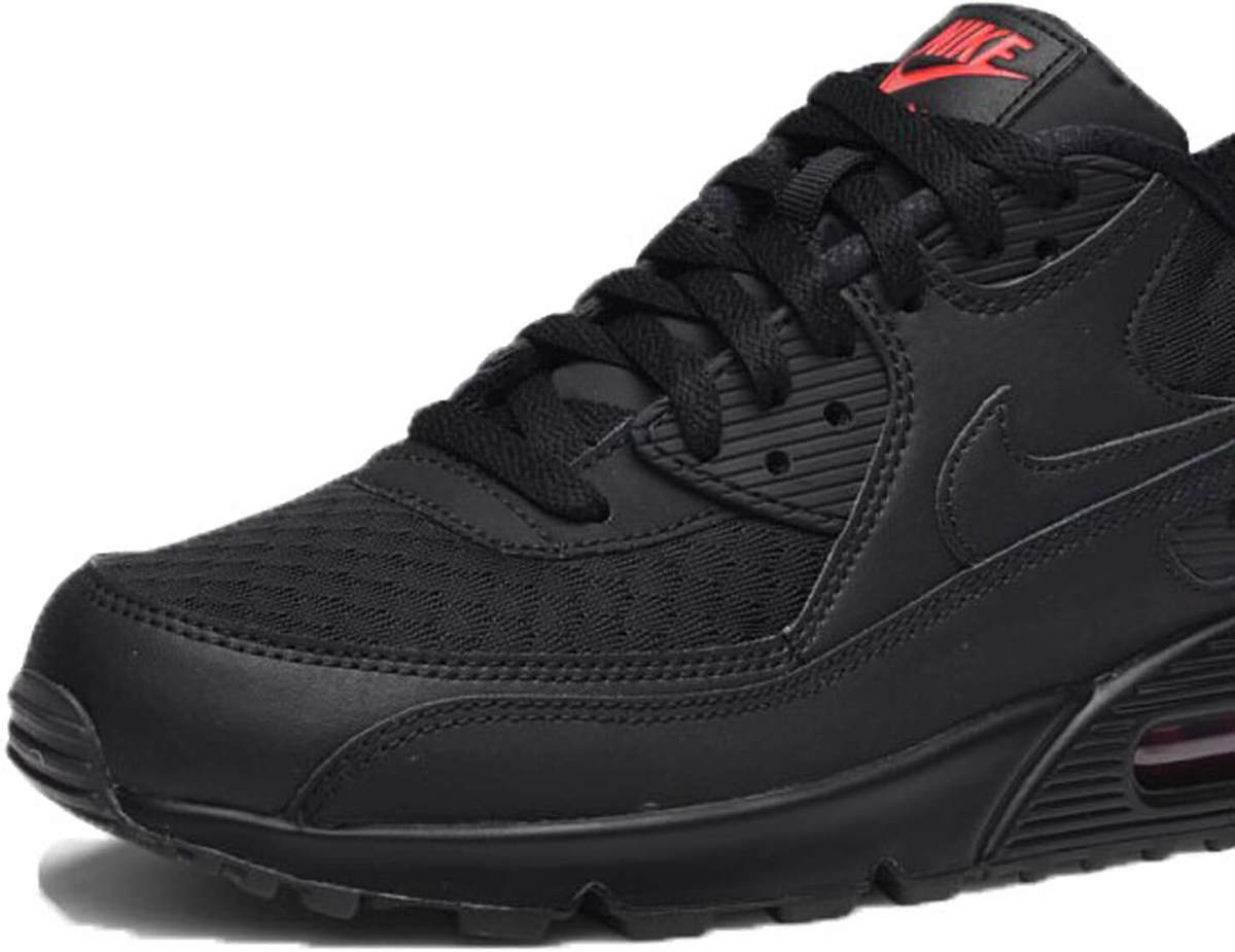 | Nike Air Max 90 Essential Black Black Metallic