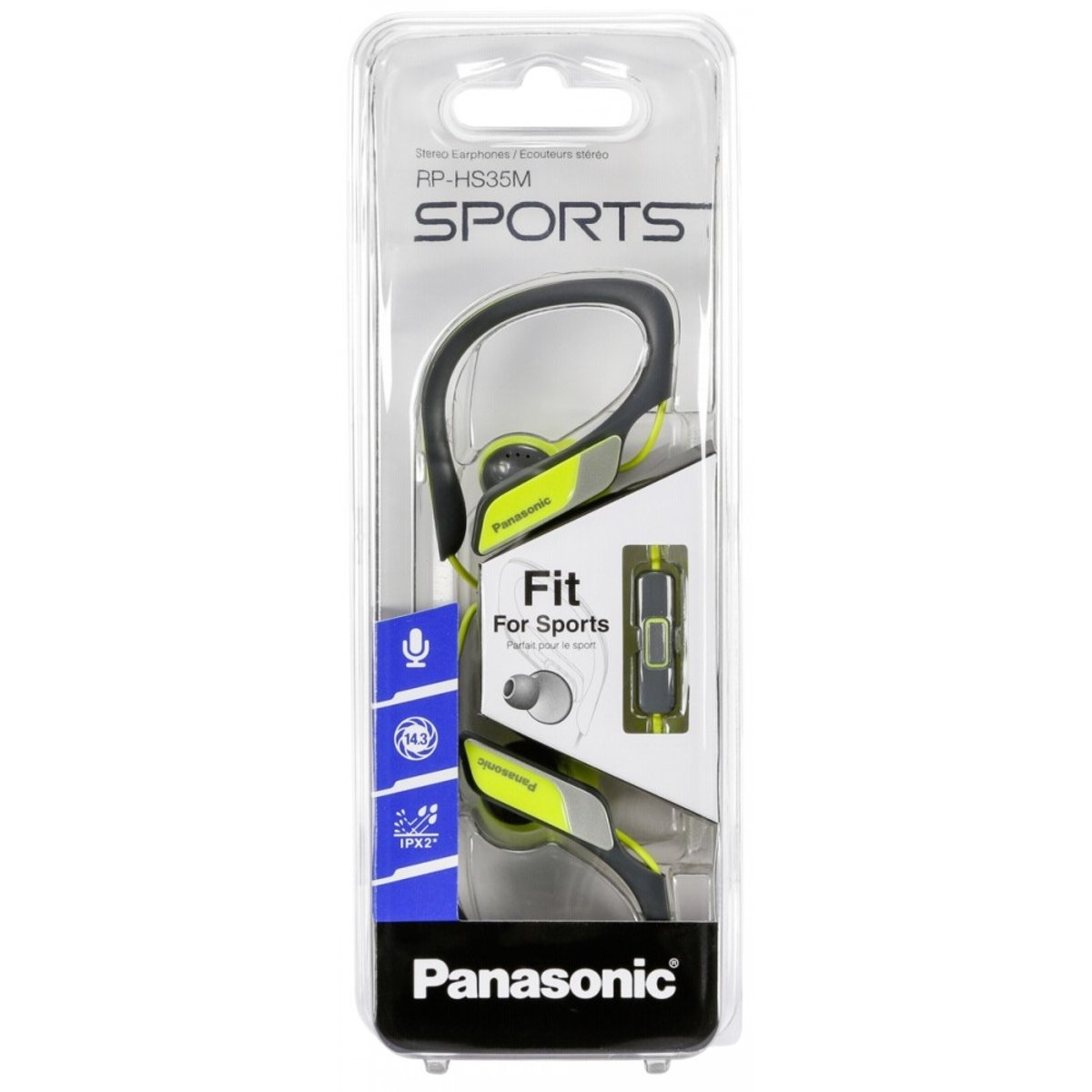 Panasonic RP-HS35ME-Y Clip Sportkopfhörer gelb kopen