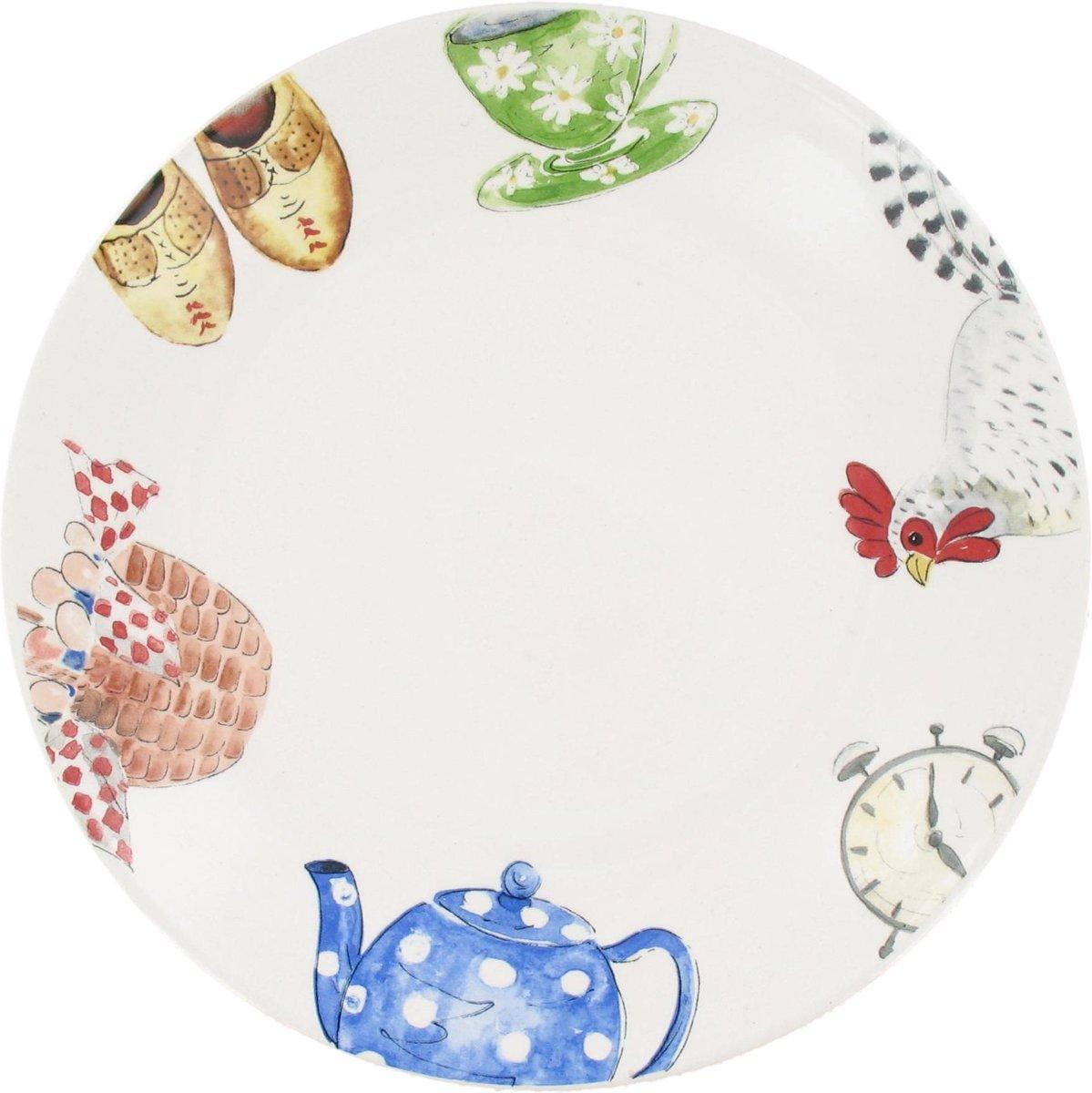 Alie Kruse-Kolk Landleven Dessertbord - Ø 22 cm - Wit kopen