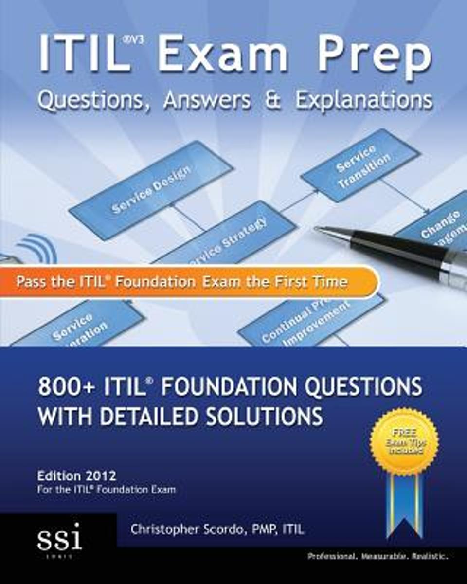 Bol Itil V3 Exam Prep Questions Answers Explanations Mr