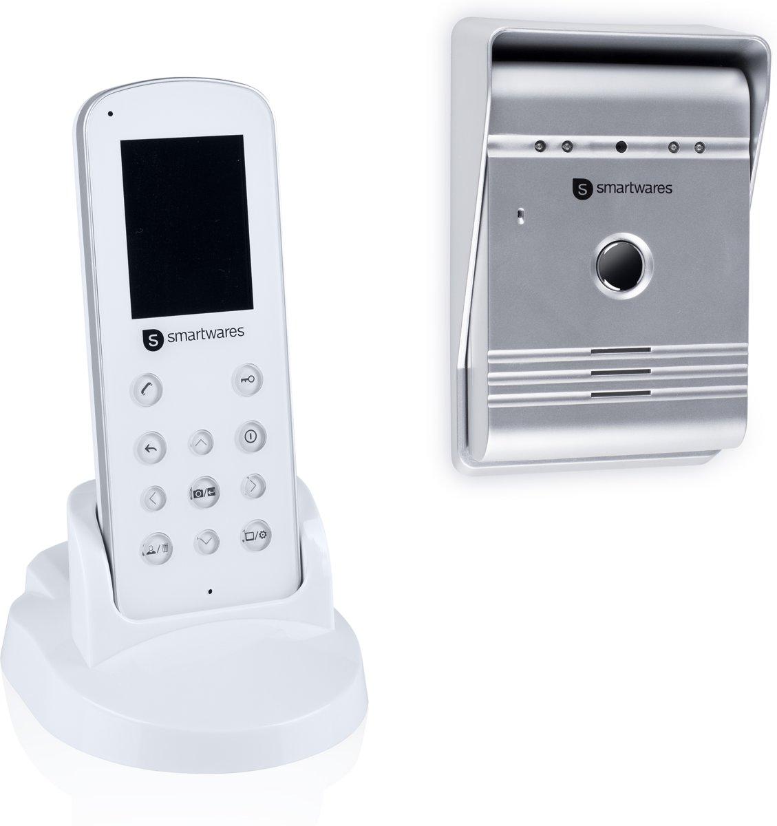 Smartwares VD36W  - Draadloze video deurintercom - 175 meter - portable handset kopen
