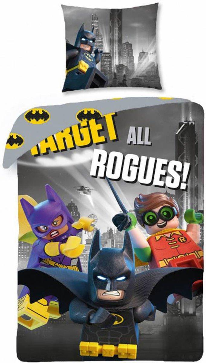 Lego Batman Movie - Dekbedovertrek - Eenpersoons - 140 x 200 xm - Multi kopen