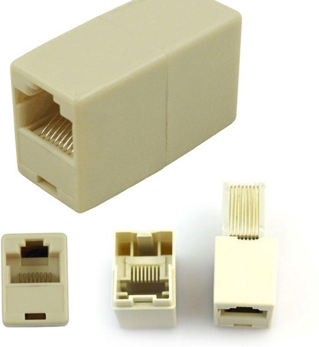 Beroemd bol.com | Netwerkkabel verlengstukje (RJ45) cat 5 UTP koppelstuk FR11