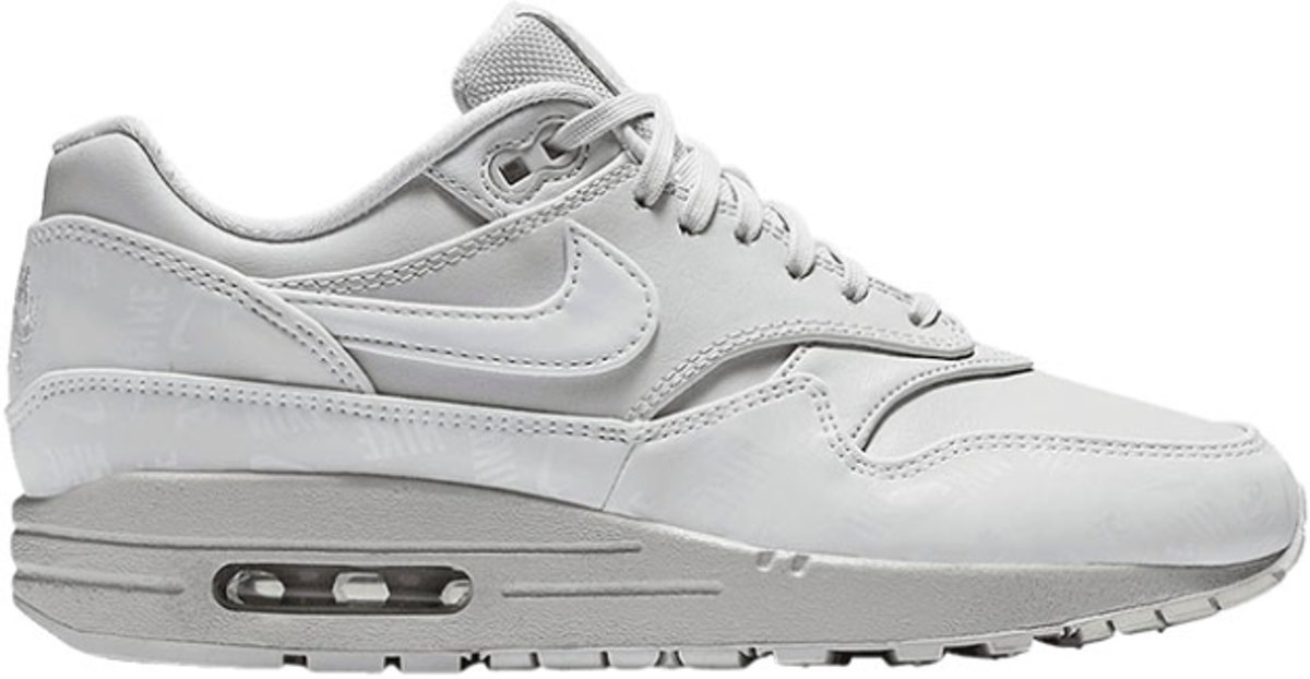 Nike Air Max 1 LX 917691 002 Wit Grijs