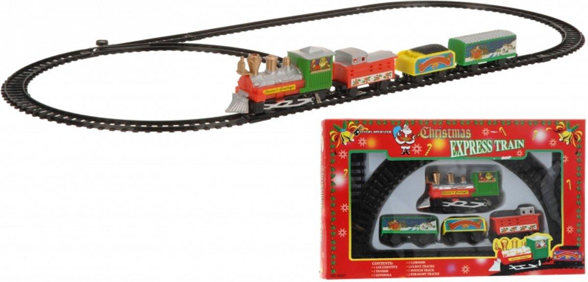 Kerst trein 9-delig kopen
