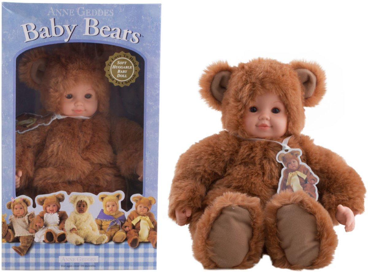 baby bear Anne Geddes 40 cm - bruin
