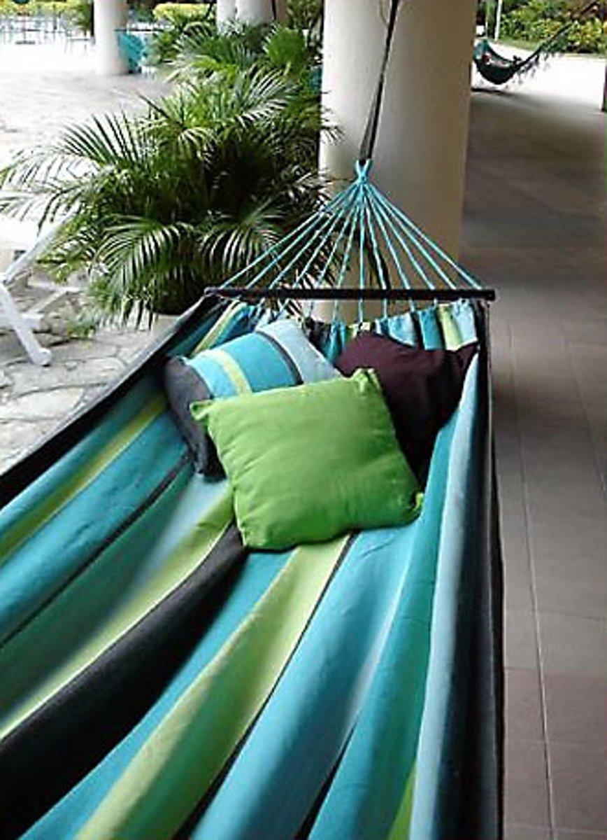 Hangmat Curacao met spreidstok 130 cm