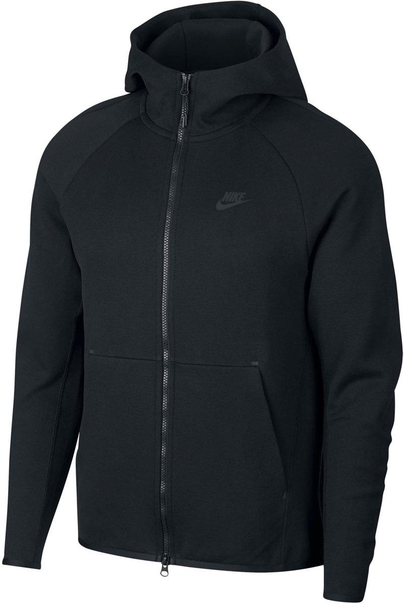 Nike NSW Tech Fleece Hoodie Fz Vest Heren - Black/(Black) - Maat L kopen