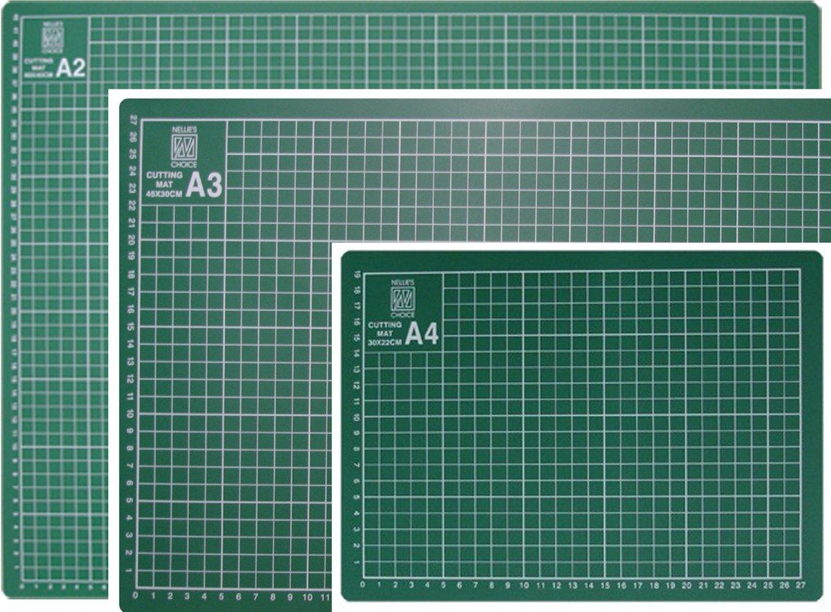 Snijmatten Set - A2, A3 en A4 Formaat kopen