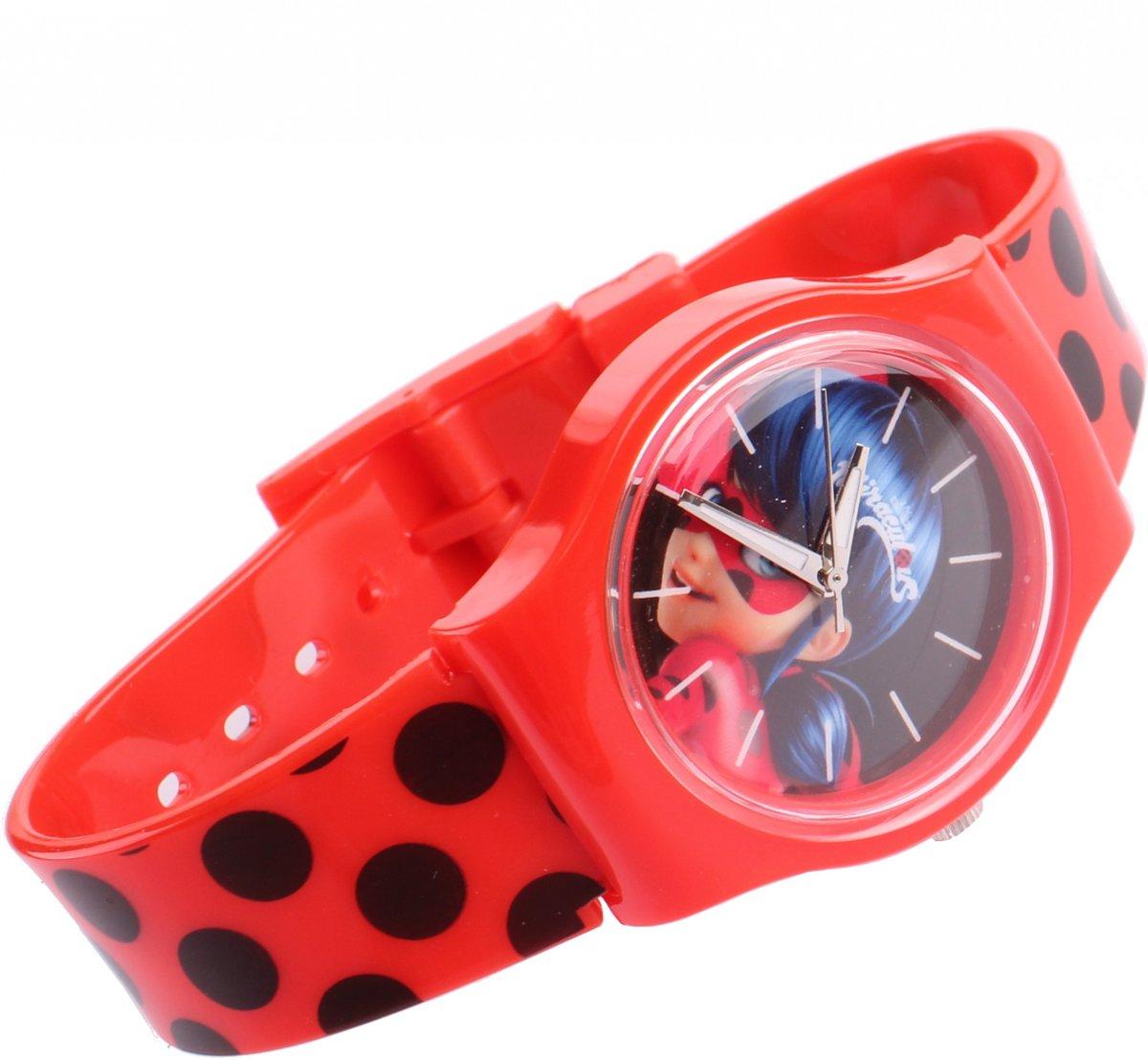 Miraculous Analoog Horloge Ladybug Rood